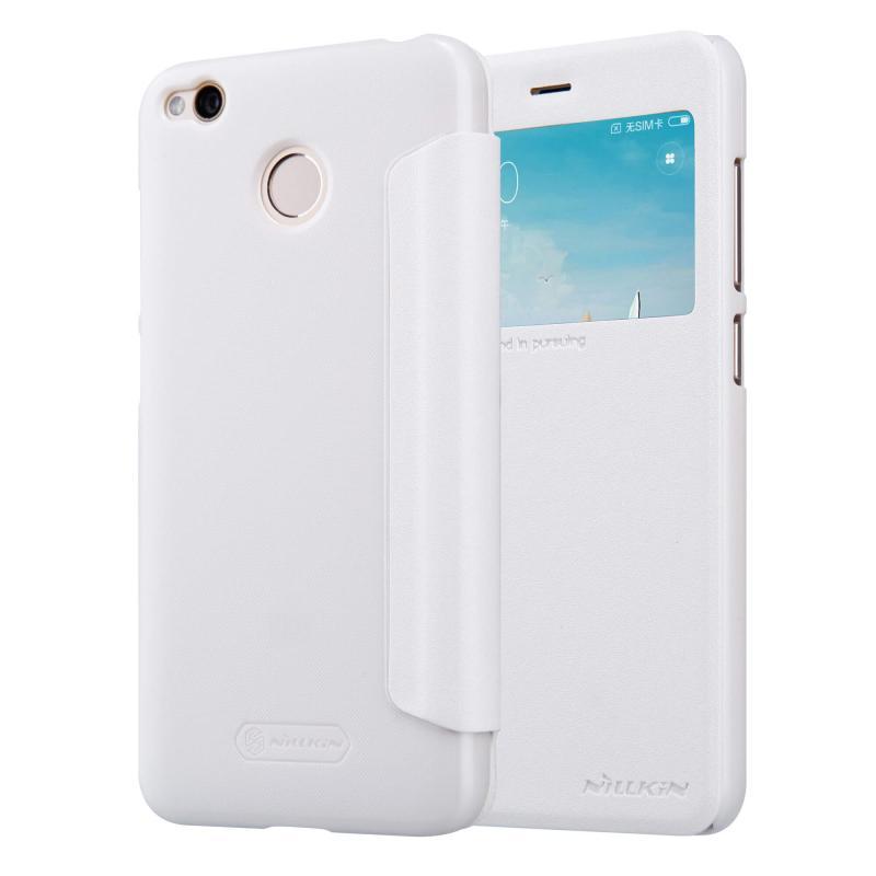 Nillkin Θήκη Sparkle View-Flip Xiaomi Redmi 4 / 4X  - White (12352)