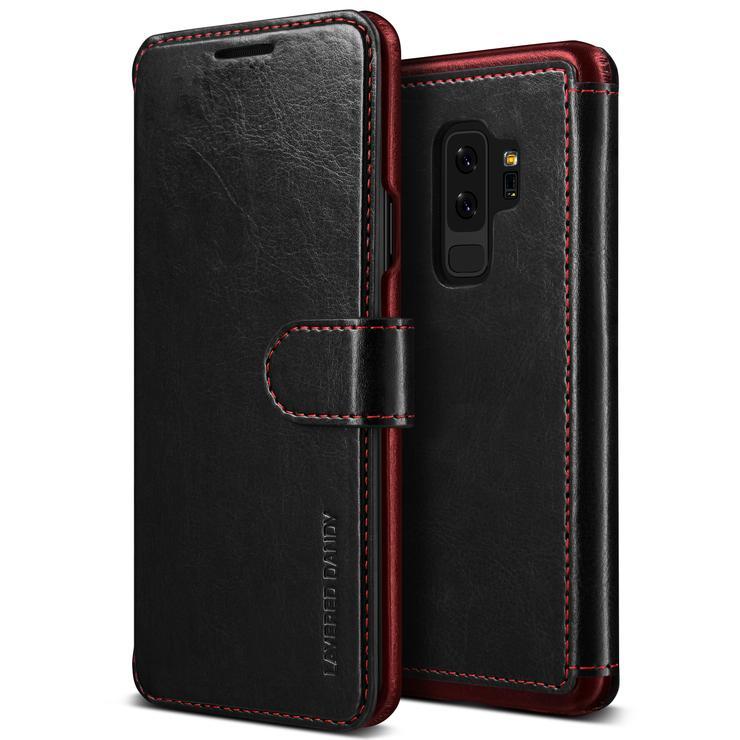 VRS Design Θήκη-Πορτοφόλι  Samsung Galaxy S9 Plus -Black (VRSGS9P-LDDBK)