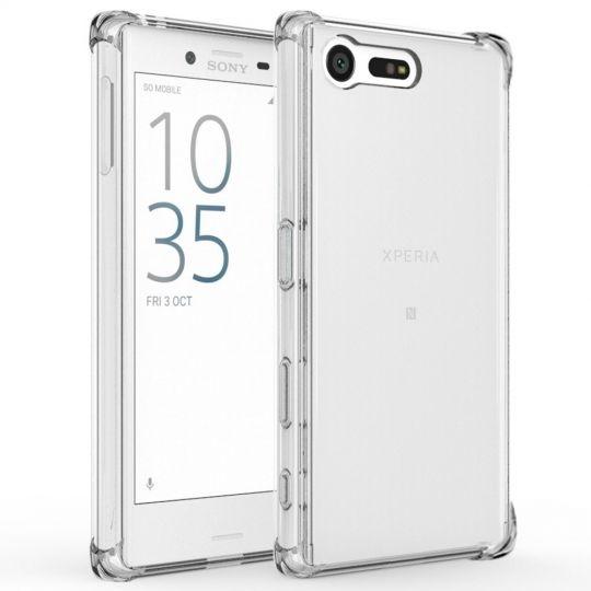 Διάφανη Θήκη Σιλικόνης Sony Xperia X Compact - Clear (10761)