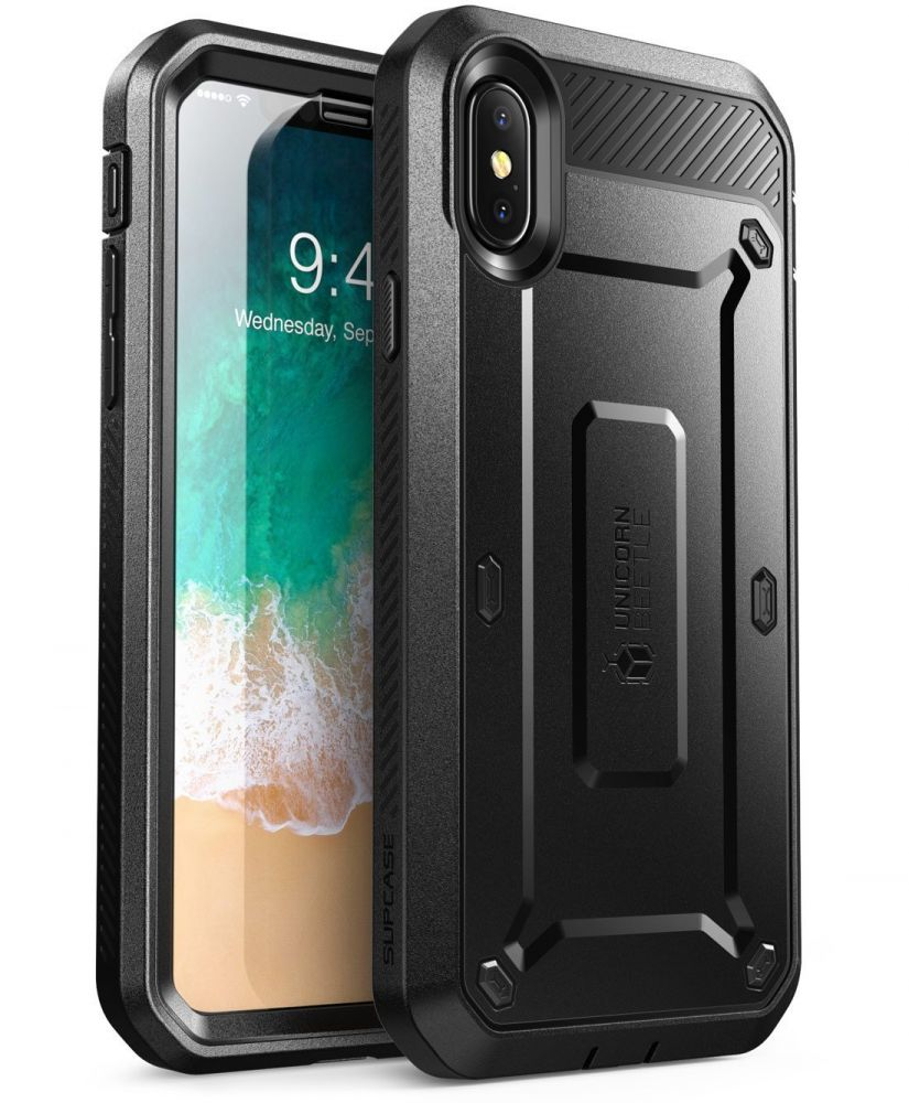Supcase Ανθεκτική Θήκη Unicorn Beetle Pro iPhone X / XS  - Black (SUP-iPhoneX-UBPro-Black)