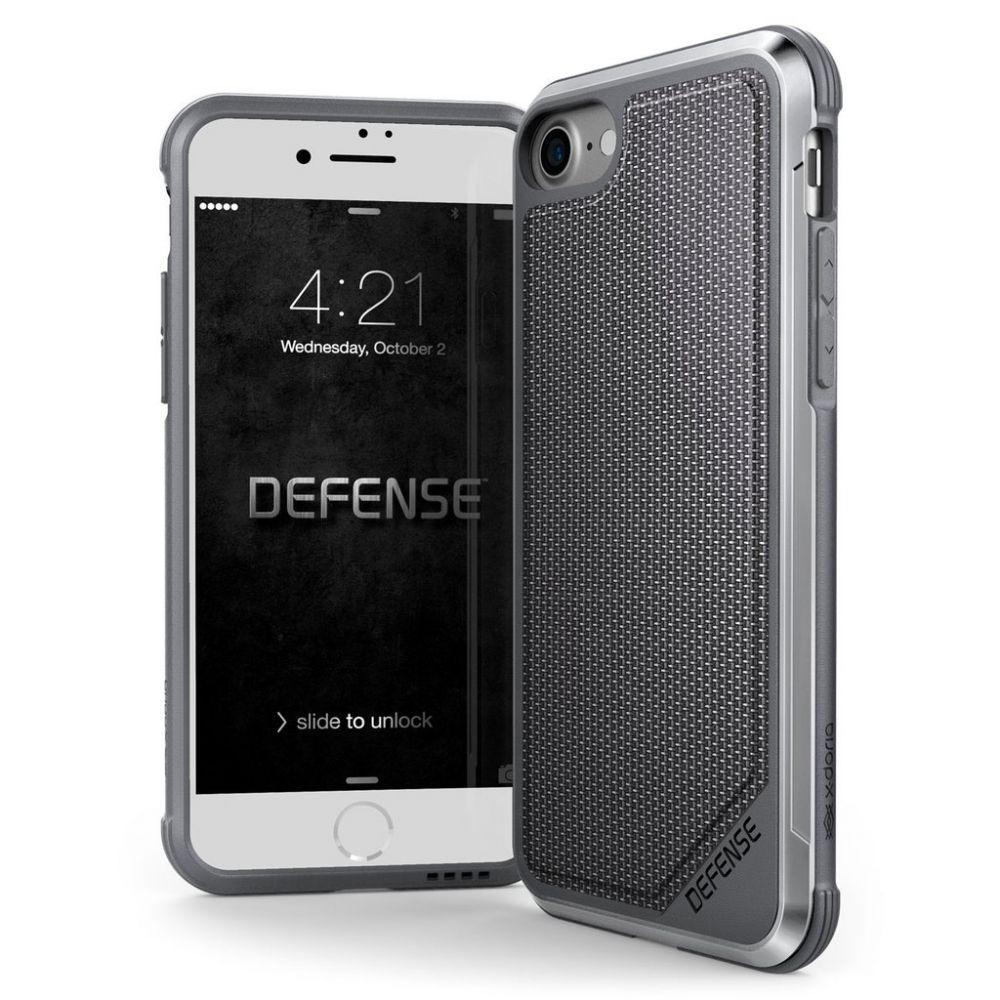 X-Doria Defense Lux Θήκη iPhone 8 / 7 - Ballistic Nylon - Black (3X170185A)
