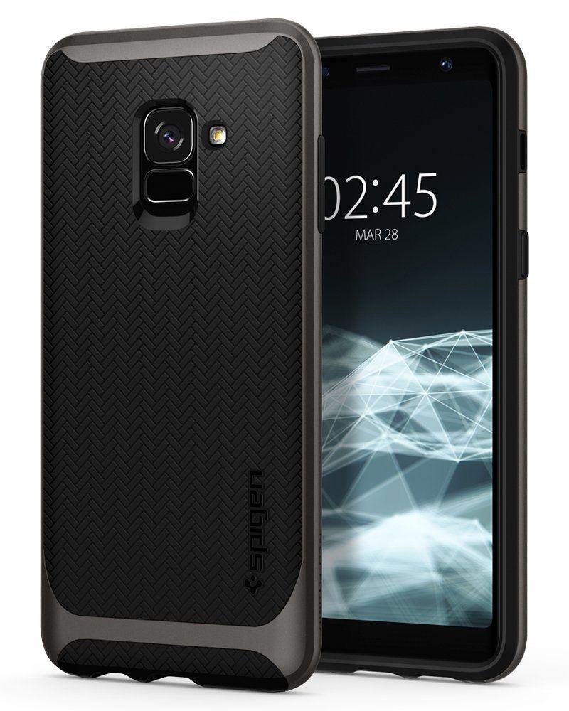Spigen Θήκη Neo Hybrid Samsung Galaxy A8 2018 - Gunmetal (590CS22754)