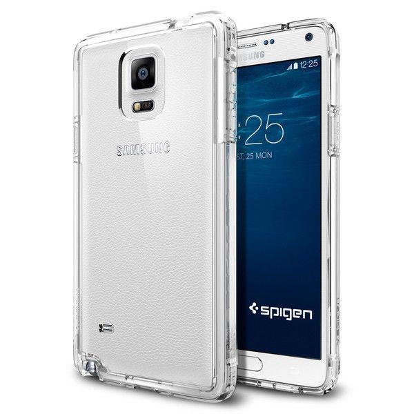Spigen Ultra Hybrid Θήκη Samsung Galaxy Note 4 - Crystal Clear (SGP11117)