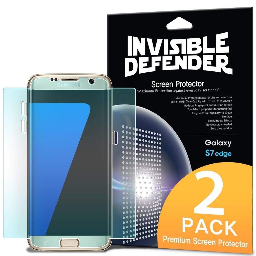 Ringke Invisible Defender Curved Screen Protector Samsung Galaxy S7 Edge - 2τμχ (12397)