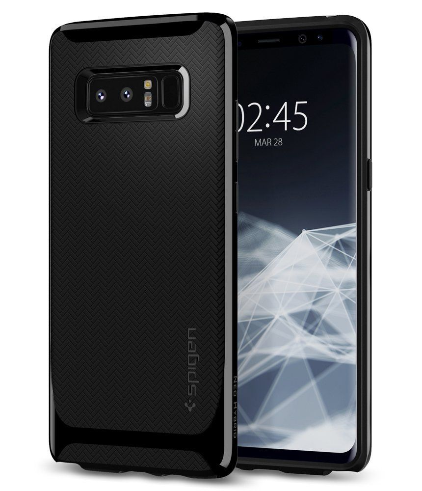 Spigen Θήκη Neo Hybrid Samsung Galaxy Note 8 - Shiny Black (587CS22085)