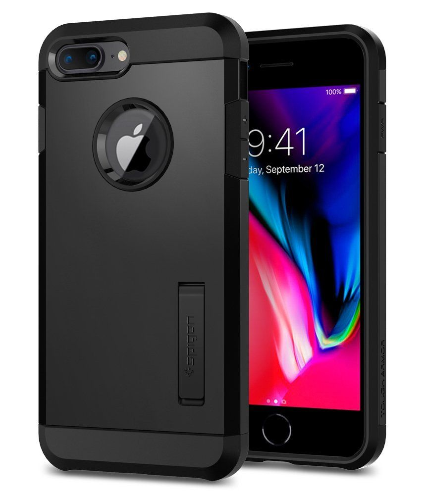Spigen Θήκη Tough Armor 2 iPhone 7 / 8 Plus - Black (055CS22246)