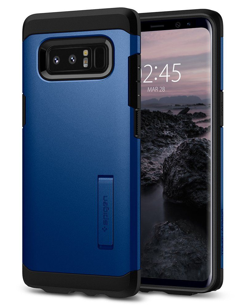 Spigen Θήκη Tough Armor Samsung Galaxy Note 8 - Deep Sea Blue (587CS22083)