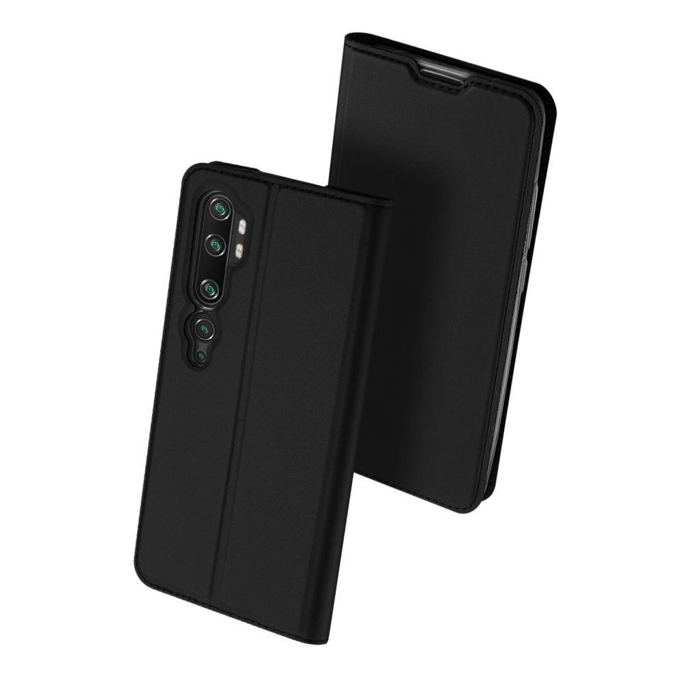 Duxducis SkinPro Θήκη Πορτοφόλι Xiaomi Mi Note 10 / Note 10 Pro - Black (59498)
