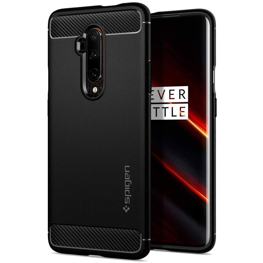Spigen Θήκη Rugged Armor OnePlus 7T Pro - Black Matte (ACS00312)