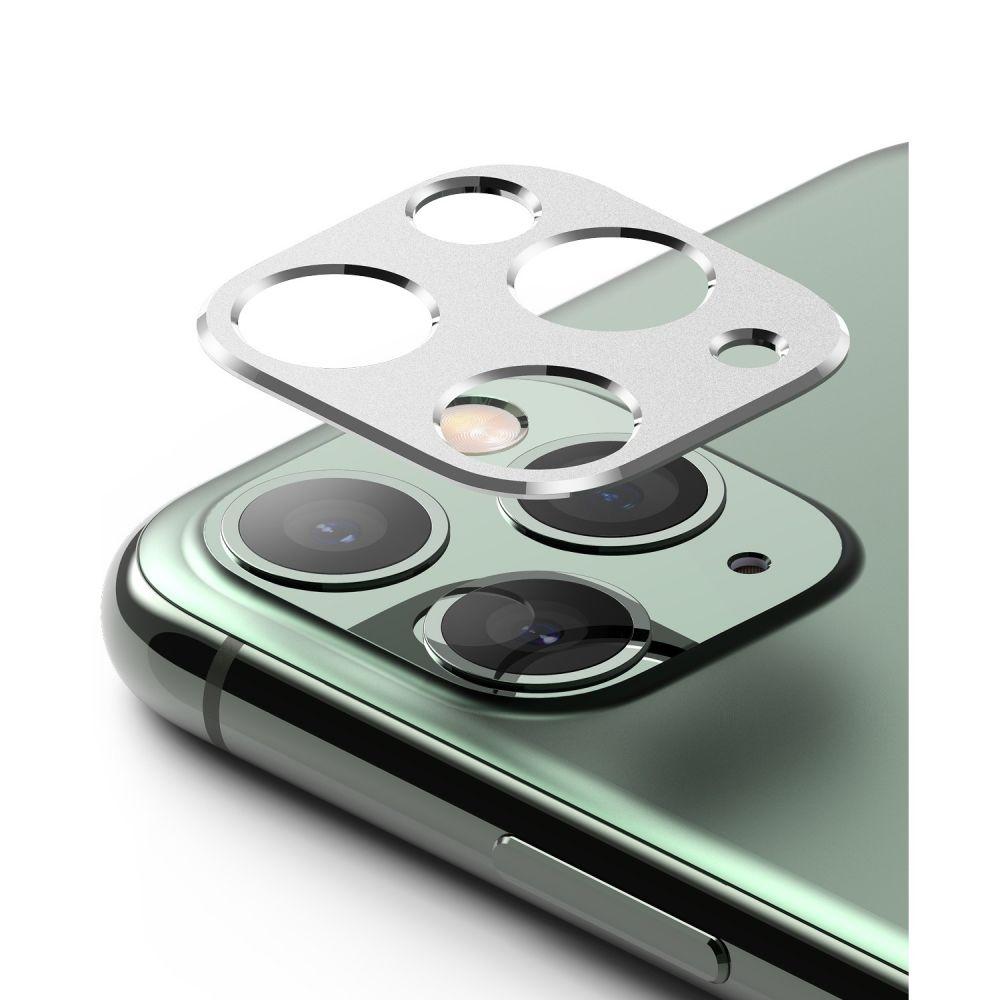 Ringke Camera Styling Screen Protector - Μεταλλικό Κάλυμμα Κάμερας iPhone 11 Pro & iPhone 11 Pro Max - Silver (61618)