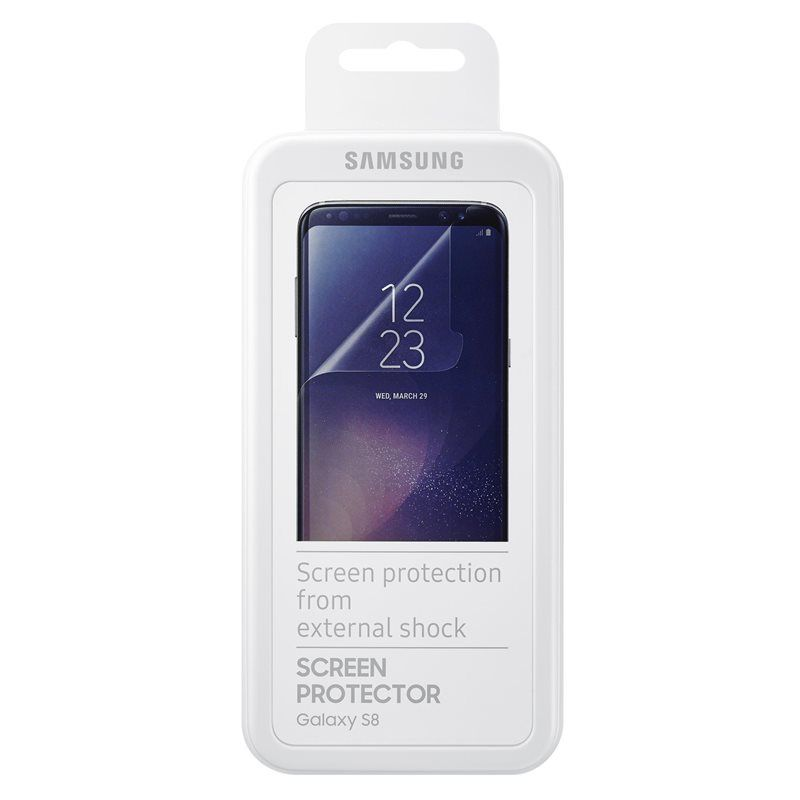 Official Screen Protector Samsung Galaxy S8 Plus - 2τμχ  (ET-FG955CTEGWW)