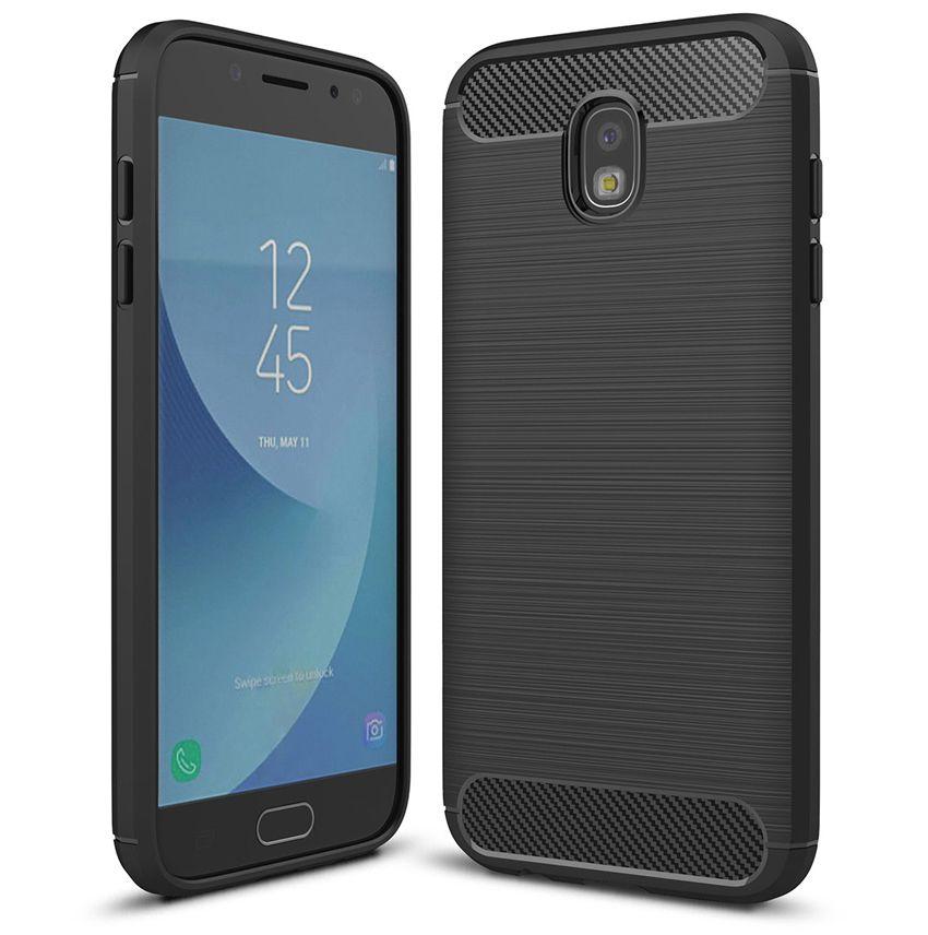Θήκη TPU Carbon Samsung Galaxy J5 2017 (Version J530F) - Black - OEM (11094)