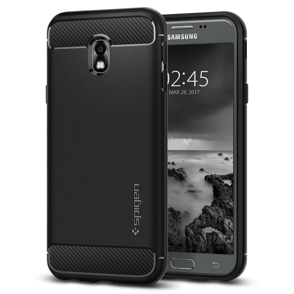 Spigen Θήκη Rugged Armor Samsung Galaxy J3 2017 - Black (580CS21499)