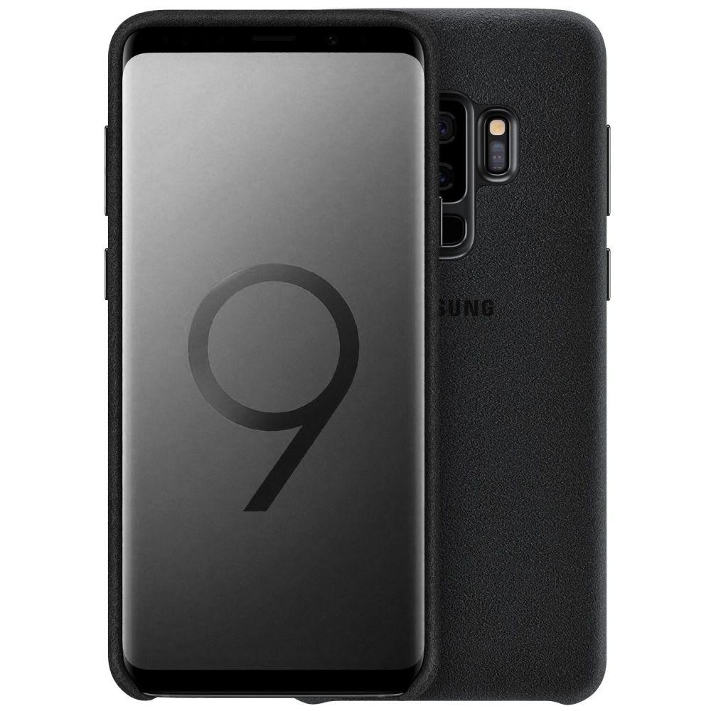 Official Alcantara Σκληρή Θήκη Samsung Galaxy S9 Plus - Black (EF-XG965ABEGWW)