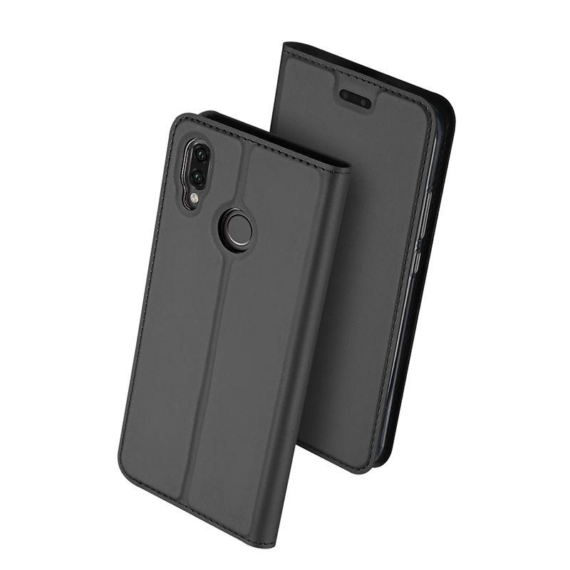 Duxducis SkinPro Flip Θήκη Huawei P20 Lite - Gray (12880)