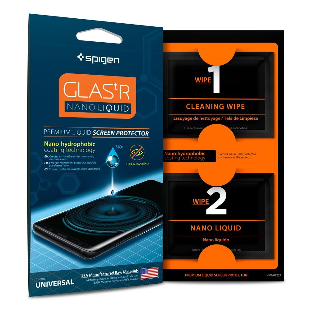 Spigen Nano Liquid GLAS.tR Screen Protector - Υγρό Προστασίας Οθόνης (000GL21813)