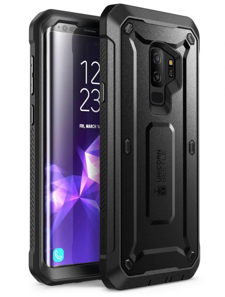 Supcase Ανθεκτική Θήκη Unicorn Beetle Pro Samsung Galaxy S9 Plus - Black (13262)