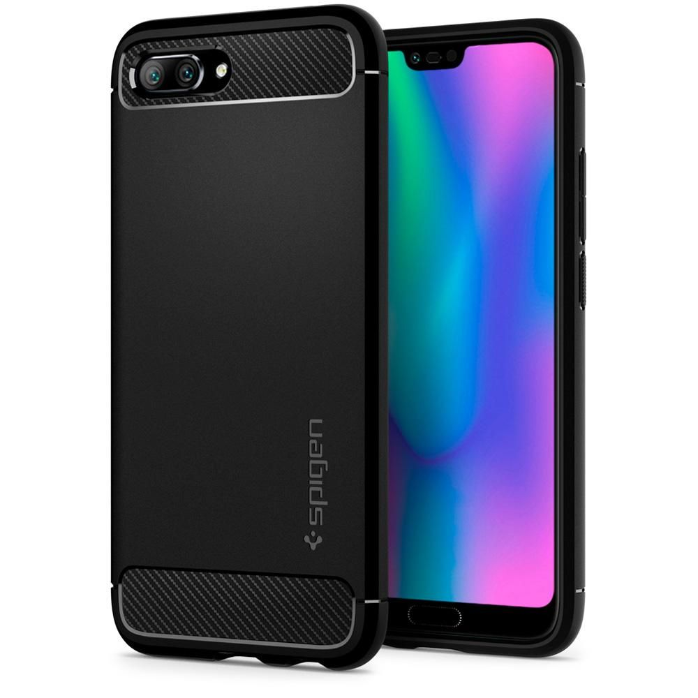 Spigen Θήκη Rugged Armor Honor 10 - Black (L27CS24096)