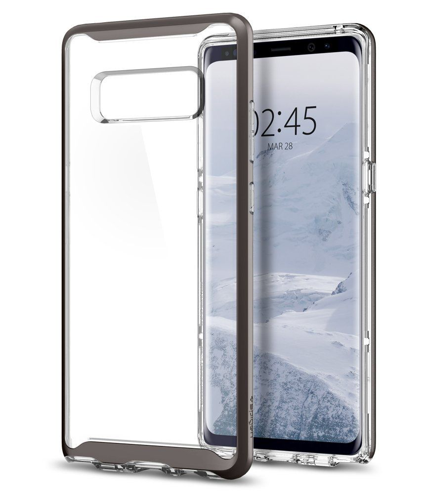Spigen Θήκη Neo Hybrid Crystal Samsung Galaxy Note 8- Gunmetal (587CS22092)