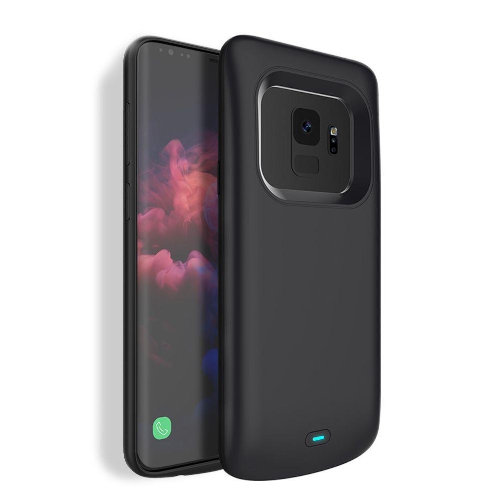 Θήκη με Ενσωματωμένη Μπαταρία 4700mAh Samsung Galaxy S9 - Fast Charge - Black (13645) - OEM