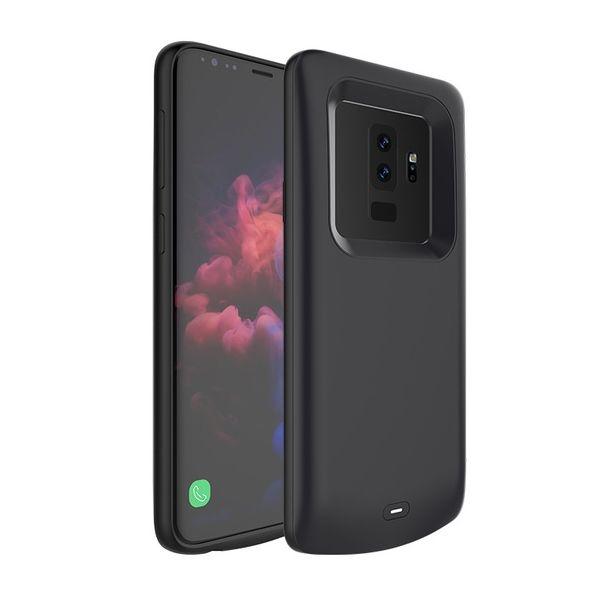 Θήκη με Ενσωματωμένη Μπαταρία 5200mAh Samsung Galaxy S9 Plus - Fast Charge - Black (13646) - OEM