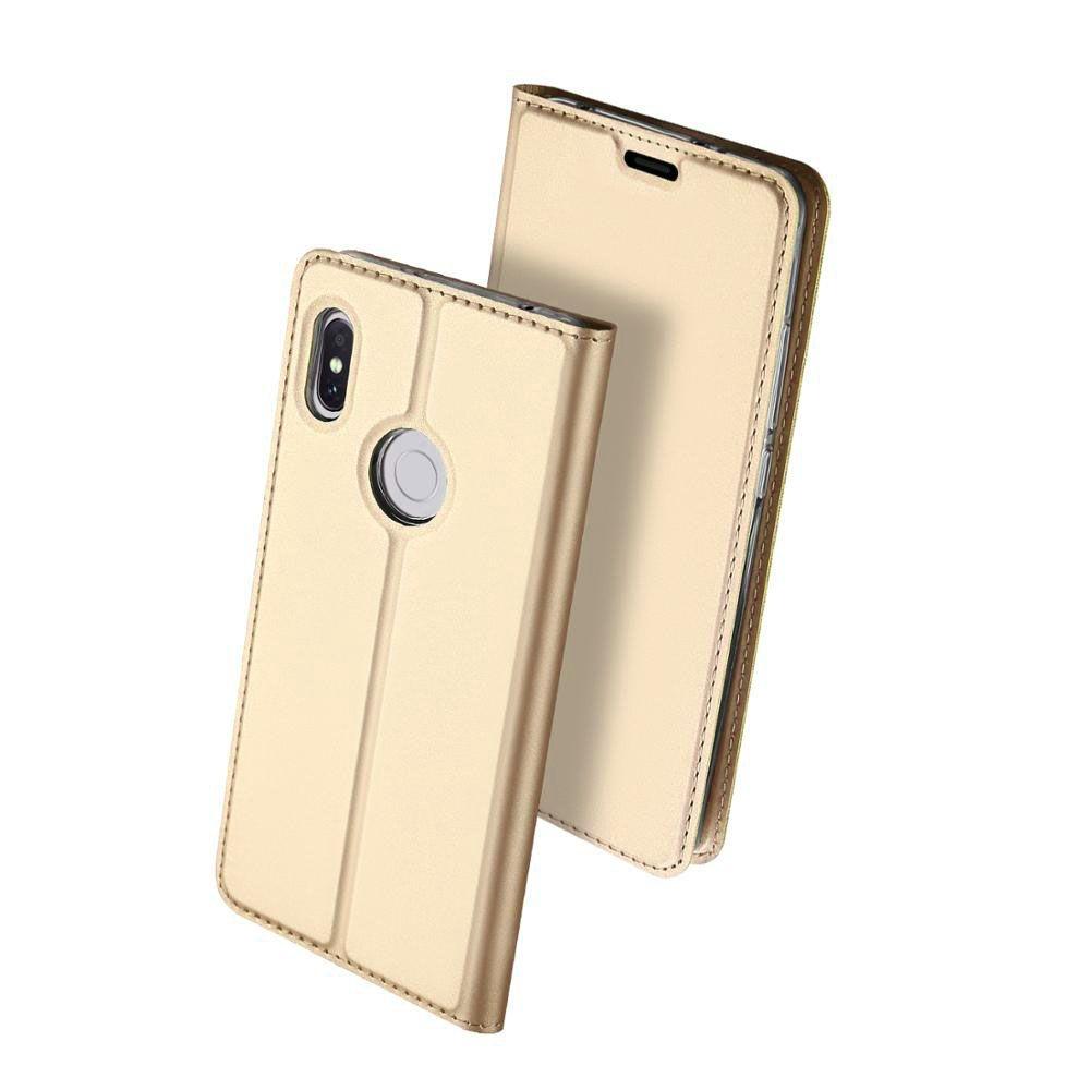 Duxducis SkinPro Flip Θήκη Xiaomi Redmi S2 - Gold (13647)