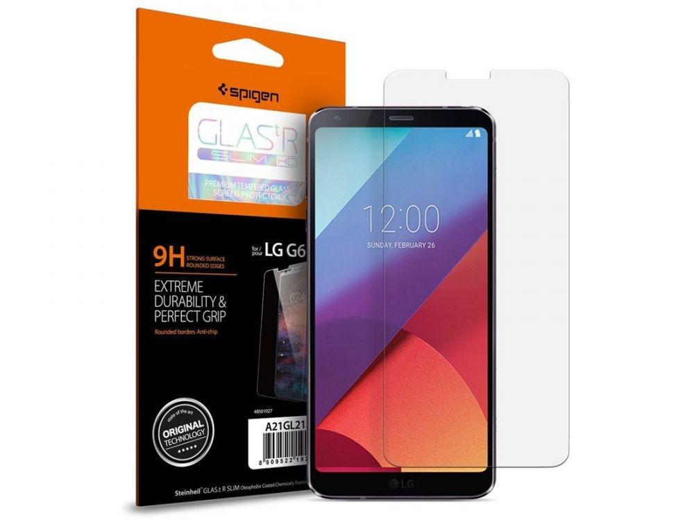 Spigen Tempered Glass GLAS.tR Slim HD - Αντιχαρακτικό γυαλί οθόνης LG G6 (A21GL21227)