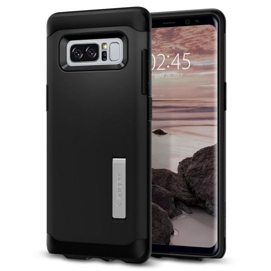 Spigen Θήκη Slim Armor Samsung Galaxy Note 8 - Metal Slate (587CS21834)