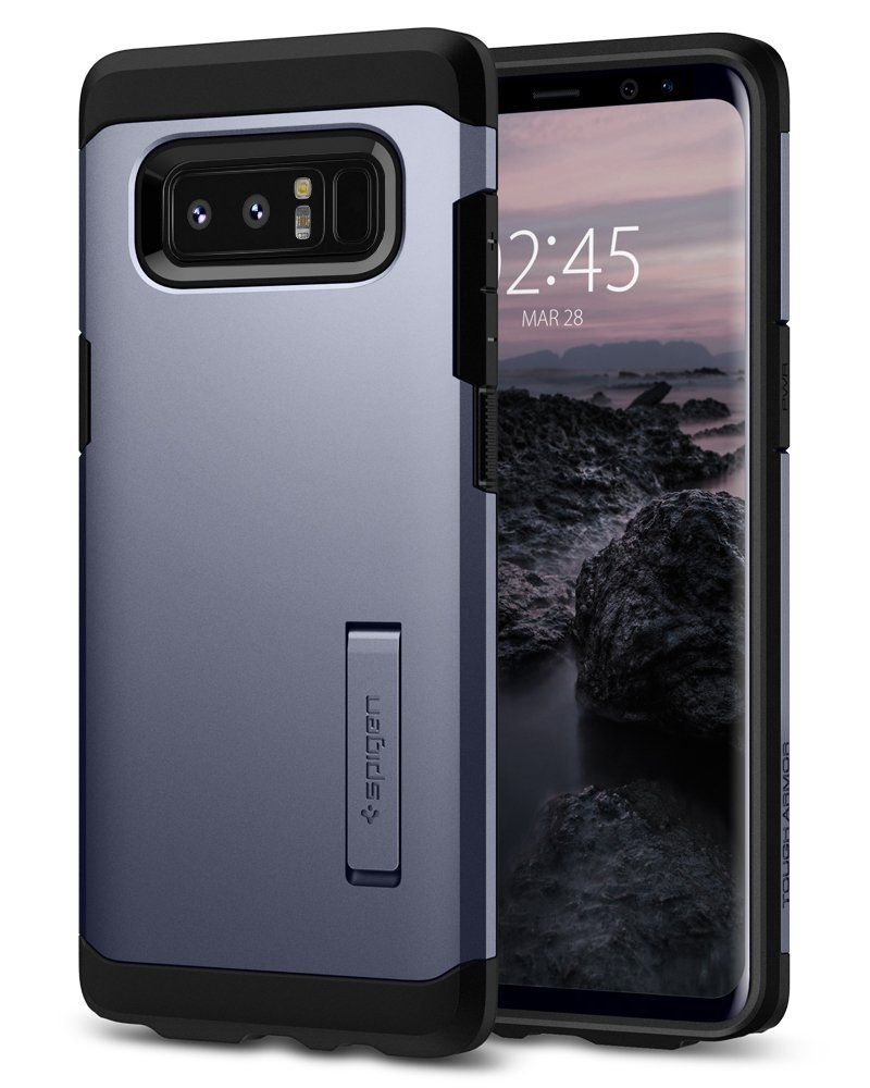 Spigen Θήκη Tough Armor Samsung Galaxy Note 8 - Orchid Gray (587CS22081)