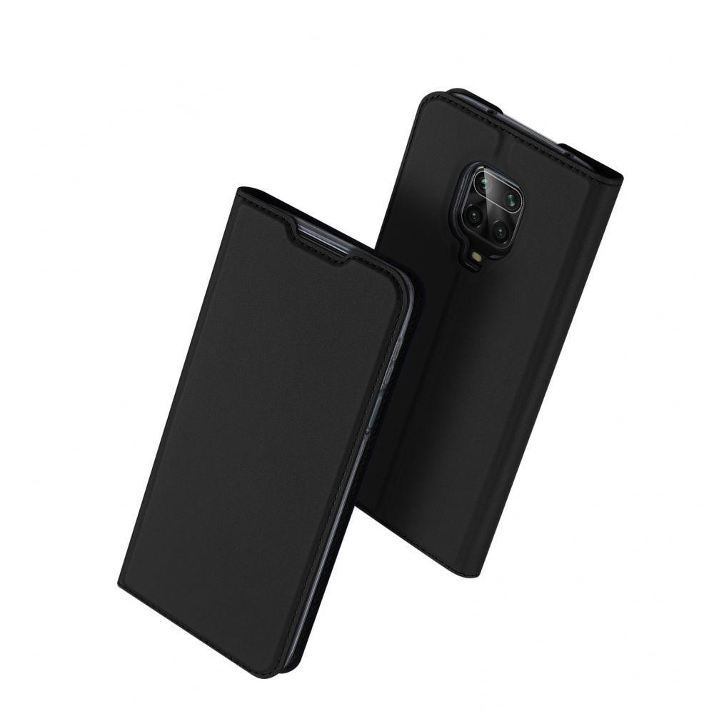 Duxducis SkinPro Θήκη Πορτοφόλι Xiaomi Redmi Note 9S / 9 Pro / 9 Pro Max - Black (64324)