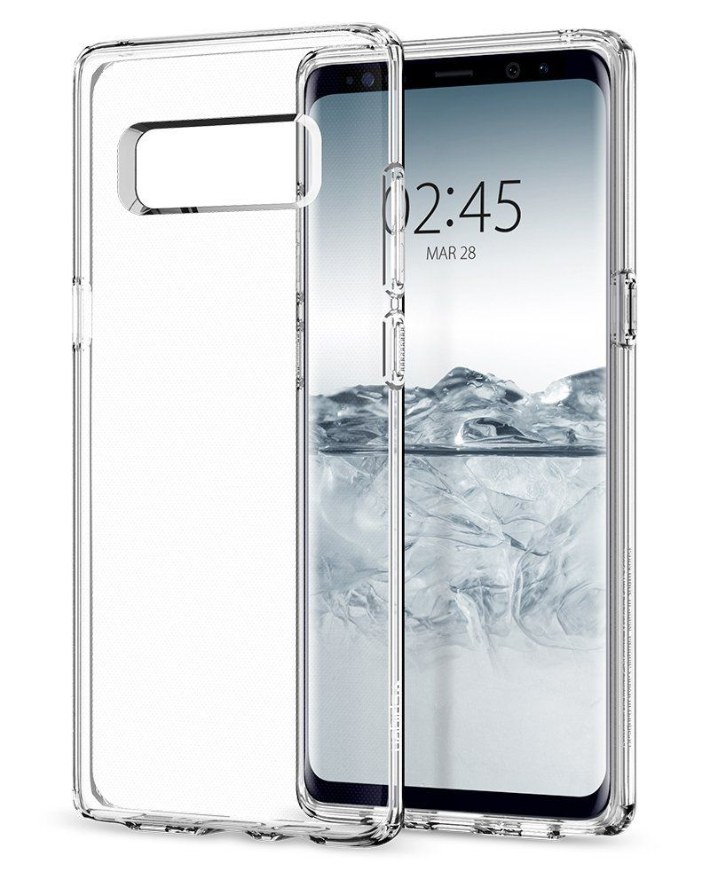 Spigen Θήκη Liquid Crystal Samsung Galaxy Note 8- Crystal Clear (587CS22056)