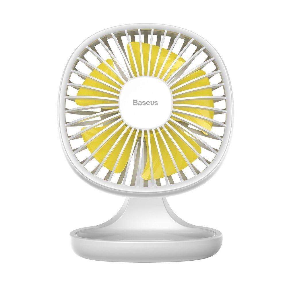 Baseus Pudding Shaped Fan - Ανεμιστήρας Μίνι Με Βάση - White (CXBD-02)