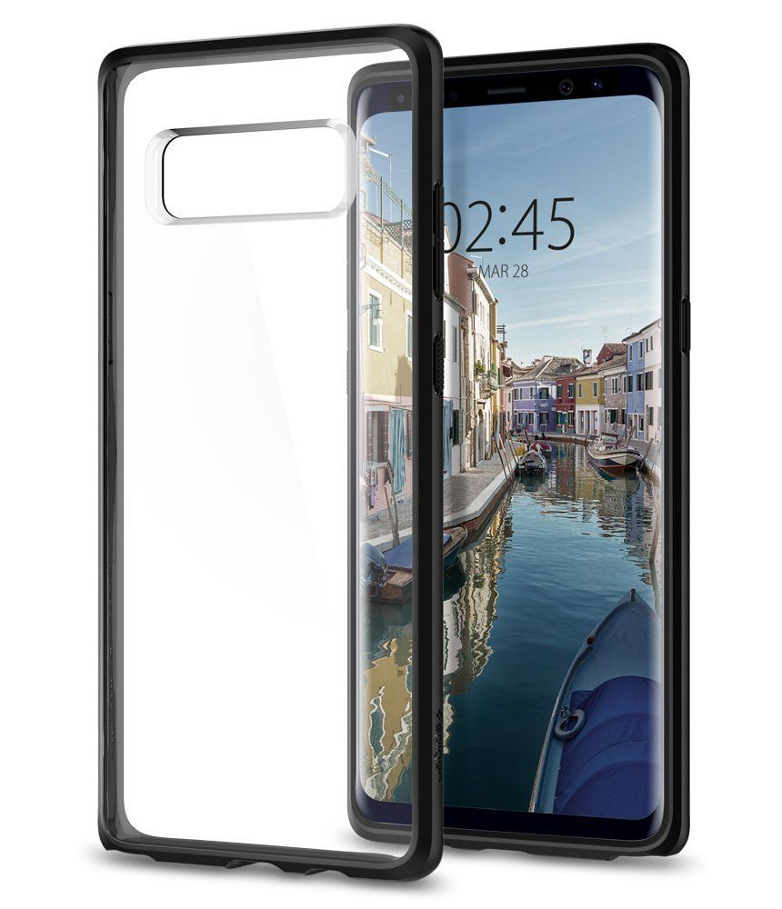 Spigen Ultra Hybrid Θήκη Samsung Galaxy Note 8 - Black (587CS22066)