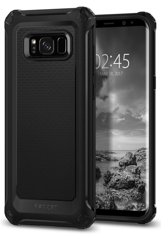 Spigen Θήκη Rugged Armor Extra Samsung Galaxy S8 Plus - Black (571CS21276)
