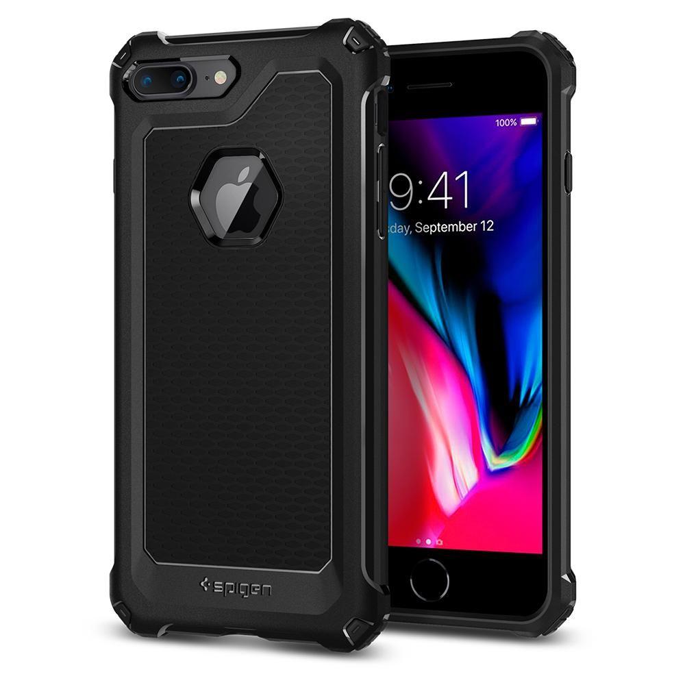 Spigen Θήκη Rugged Armor Extra iPhone 7 Plus - Black (055CS21963)