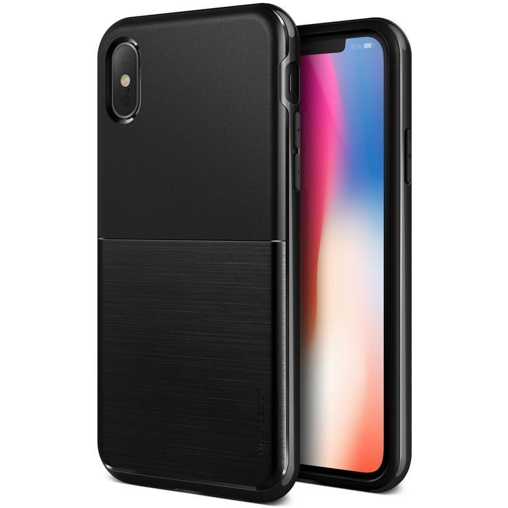 VRS Design Θήκη High Pro Shield iPhone X - Black (VRSIP8-HPSDS)