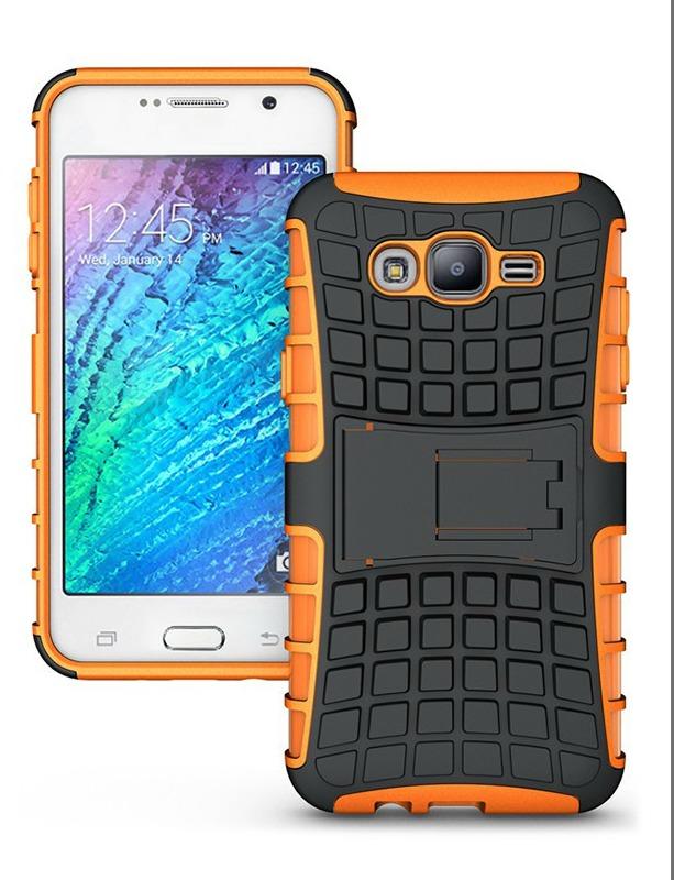 Ανθεκτική Θήκη Samsung Galaxy J5 (2015) (031-002-054) Πορτοκάλι - OEM