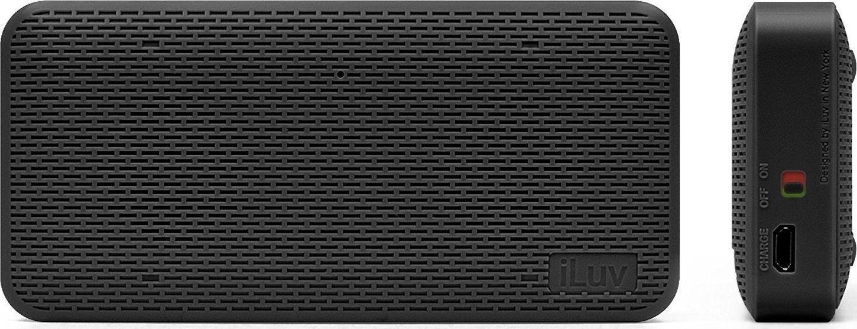 iLuv Slim Portable Bluetooth Speaker - Ασύρματο Ηχείο - Black (AUDMINIBK)