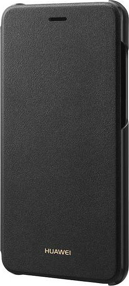 Huawei Official Flip Cover - Σκληρή Θήκη για Huawei P9 Lite 2017 - Black (51991958)