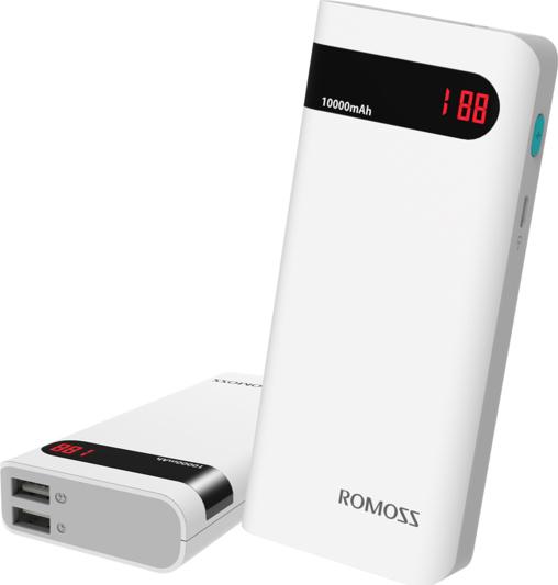 Romoss Φορητή Μπαταρία Φόρτισης (Power Bank) - 10400mAh - SENSE 4P (PH50-482-02)