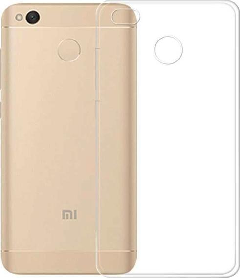 Official Xiaomi Θήκη Σιλικόνης Xiaomi Redmi 4X - Clear (NYE5631GL)