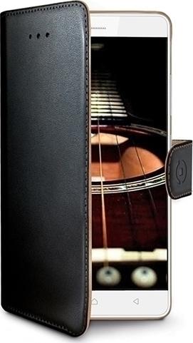 Celly Wally Θήκη - Πορτοφόλι Huawei Mate 10 Lite - Black (WALLY693)