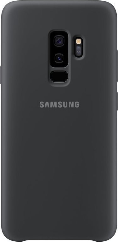 Samsung Official Silicon Cover - Silky and Soft-Touch Finish - Θήκη Σιλικόνης Samsung Galaxy S9 Plus - Black (EF-PG965TBEGWW)