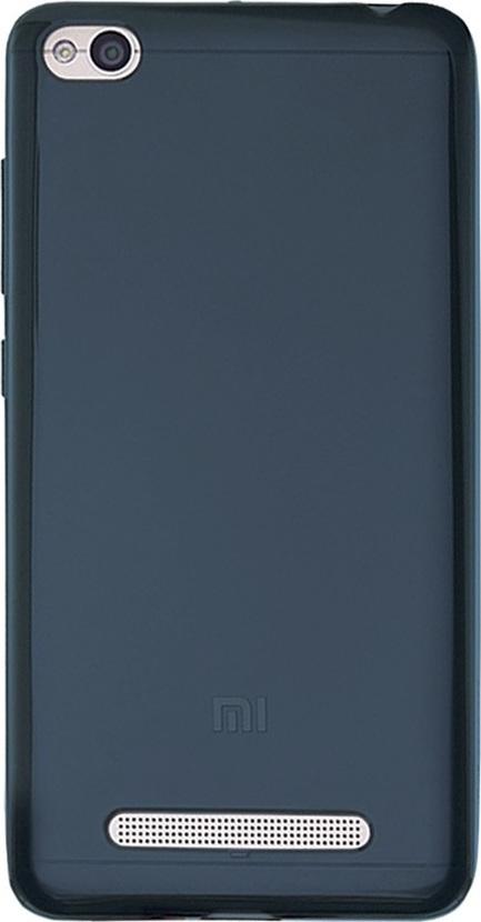 Official Xiaomi Θήκη Σιλικόνης Xiaomi Redmi 4A  - Blue (NYE5630TY)