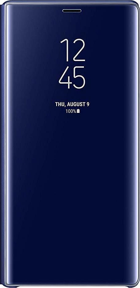 Samsung Official Clear View Standing Cover - Θήκη Flip με Ενεργό Πορτάκι Samsung Galaxy Note 9 - Blue (EF-ZN960CLEGWW)