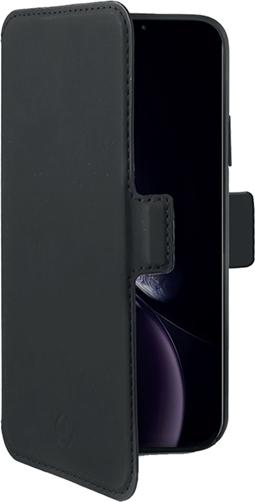 Celly Prestige Θήκη - Πορτοφόλι iPhone XR - Black (PRESTIGEM998BK)
