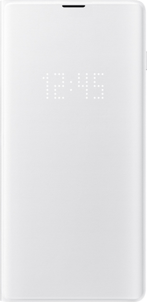 Official Samsung Led View Cover Samsung Galaxy S10 Plus - White (EF-NG975PWEGWW)