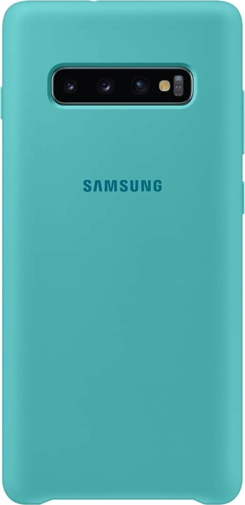 Official Samsung Θήκη Σιλικόνης Samsung Galaxy S10 Plus - Green (EF-PG975TGEGWW)