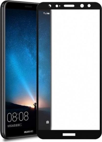 RedShield Tempered Glass - Fullface Αντιχαρακτικό Γυαλί Οθόνης Huawei Mate 10 Lite - Black (RSHITEMP34BK)