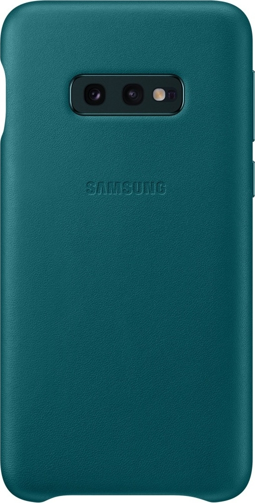 Official Δερμάτινη Θήκη Samsung Galaxy S10e - Green (EF-VG970LGEGWW)